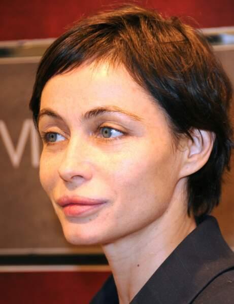 La coupe pixie d'Emmanuelle Béart