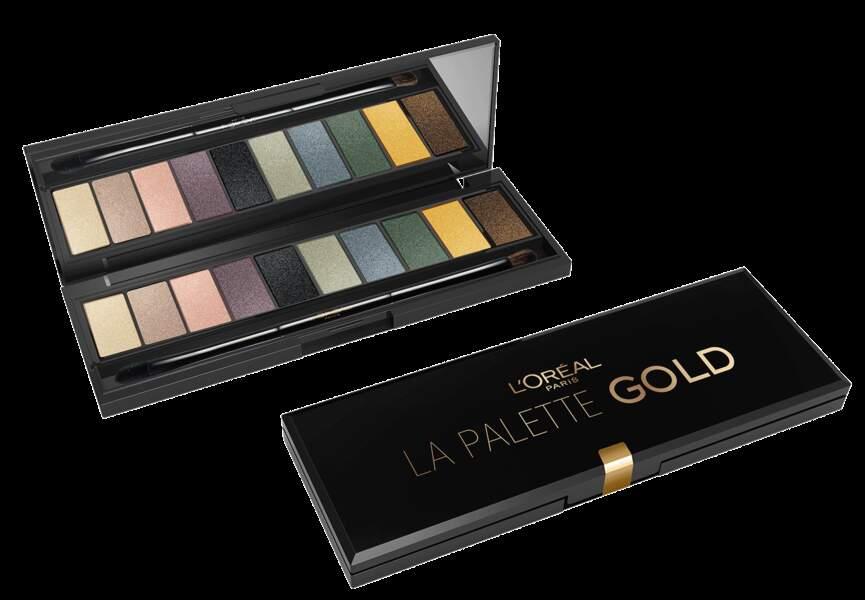 Palette Gold Eye, L'Oréal Paris