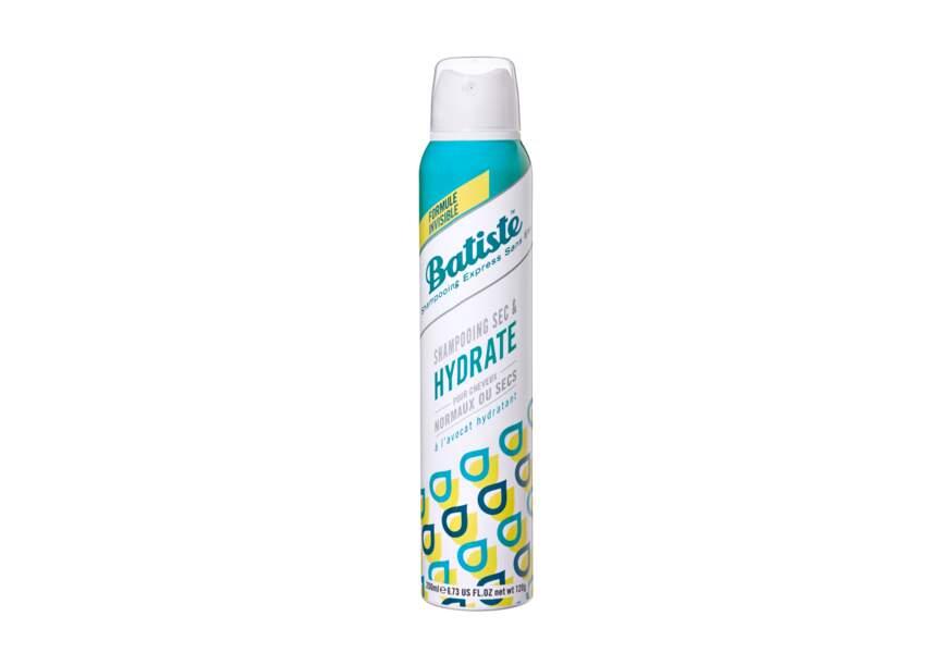 Le shampooing sec hydratant Batiste