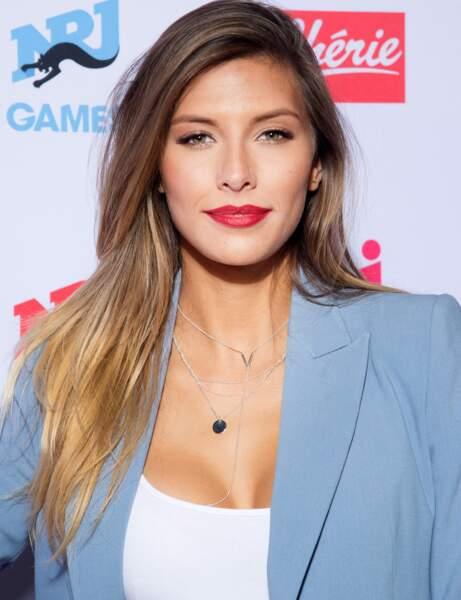 Camille Cerf avec maquillage
