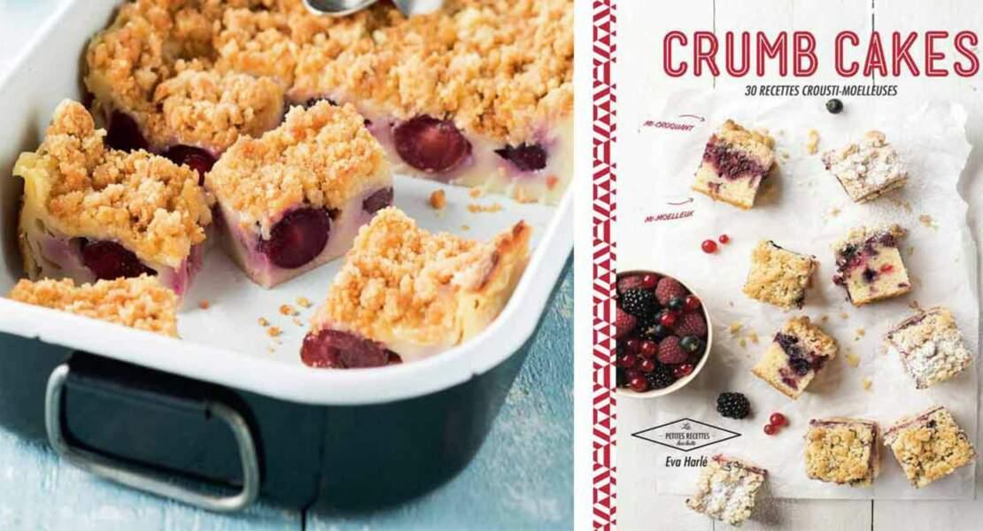 Crumb cake façon clafoutis aux cerises