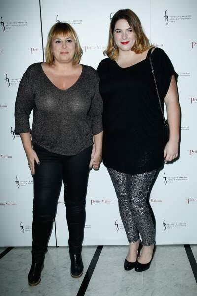 Michèle Bernier et sa fille Charlotte Gaccio à l'inauguration de La petite maison de Nicole en 2013.