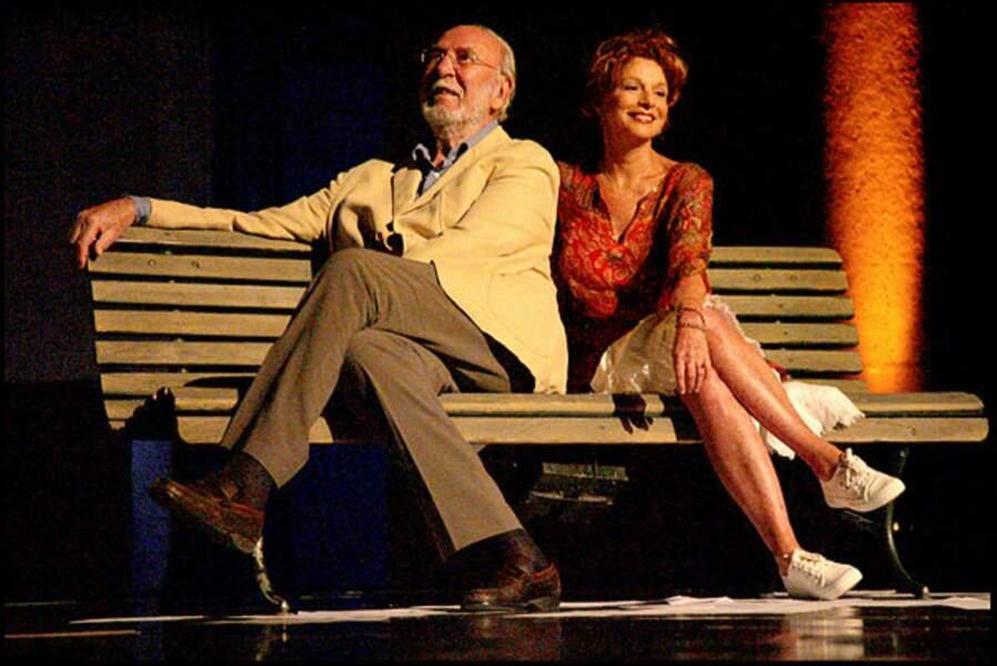 Partenaire à la scène, Agathe Natanson a été sa quatrième et dernière épouse.