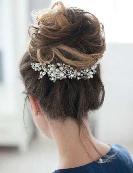 Le chignon volumineux