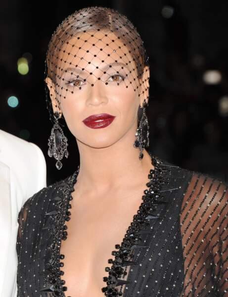 Les lèvres sexy de Beyoncé