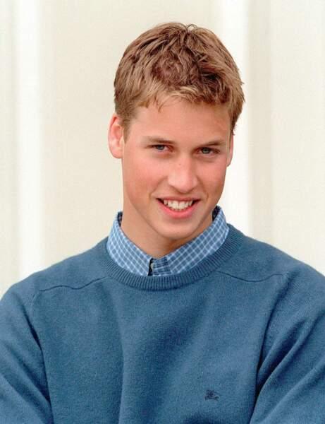 Le Prince William à 17 ans