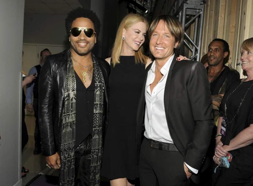 Nicole Kidman, Lenny Kravitz, 2003-2005