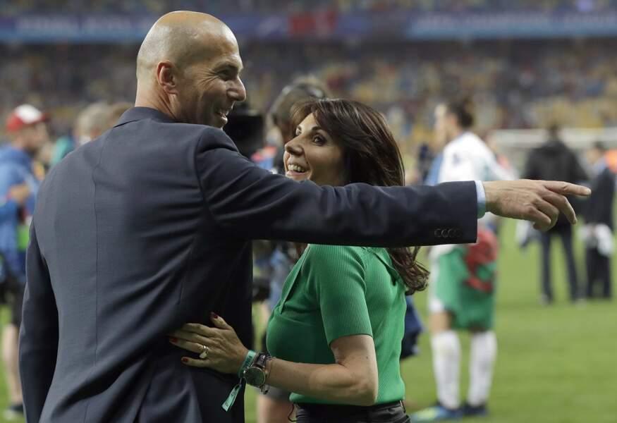 Zinédine Zidane et sa femme Véronique : 2018