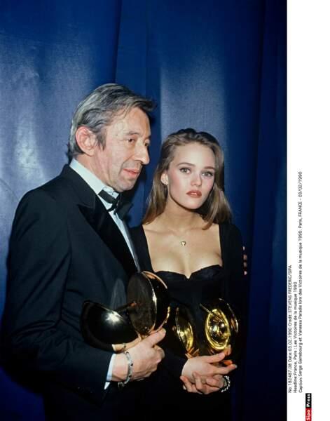 Serge Gainsbourg et Vanessa Paradis