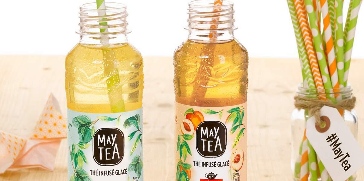 Boisson au thé infusé glacé May Tea