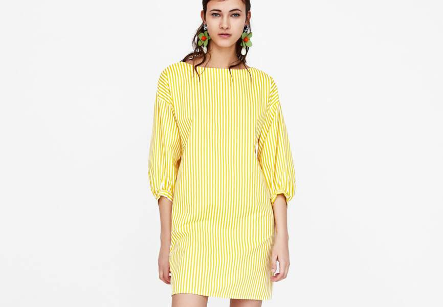 Nouveautés Zara: la robe manches bouffantes