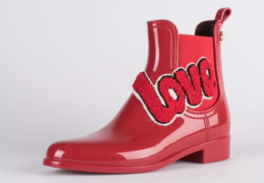 "Bottines ""Love"""
