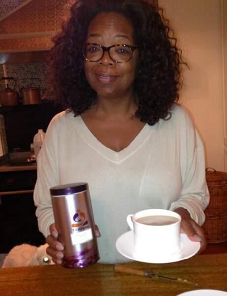 La richissime Oprah Winfrey connait elle aussi les weekends sans maquille