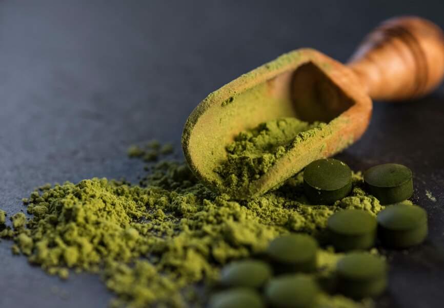 Aliment vert : la spiruline, revitalisante