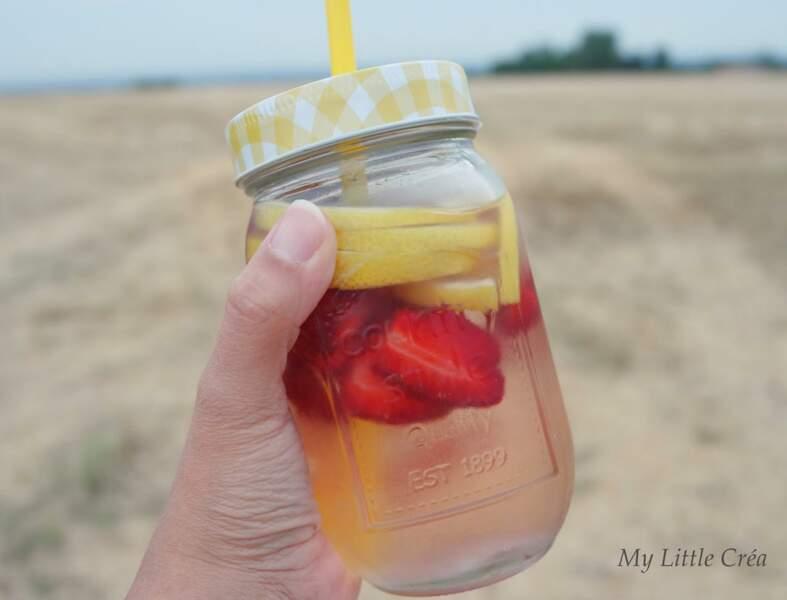A la fraise et au citron