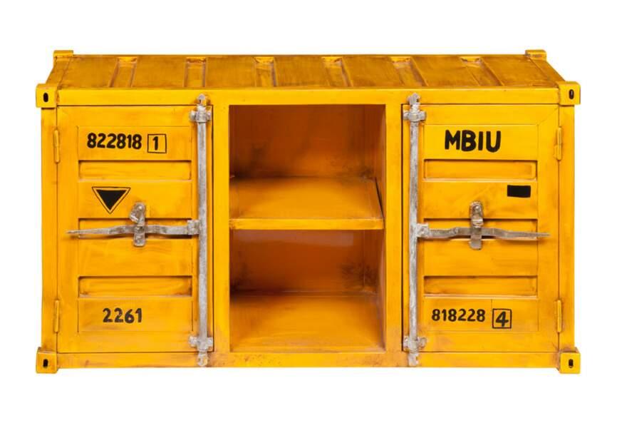 Déco industrielle : le meuble container