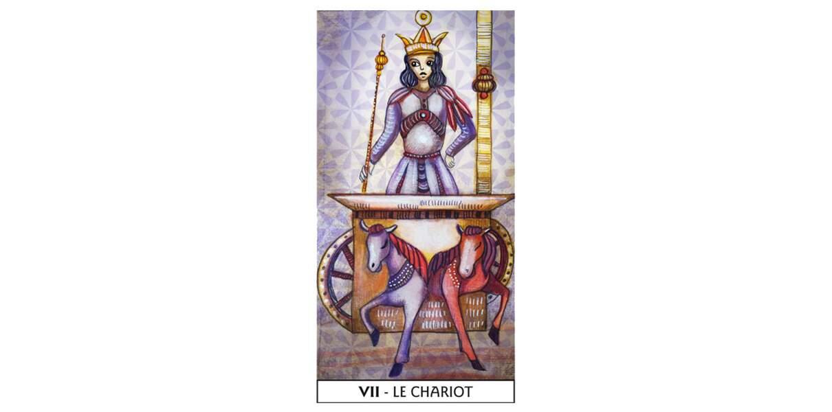Lame 7 du Tarot des Mages : Le Chariot