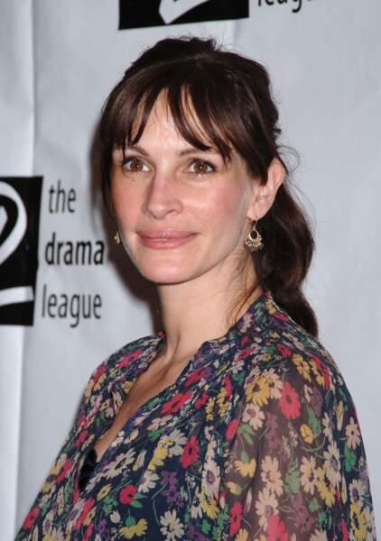 En 2006, Julia Roberts à la cérémonie annuelle des Drama league awards à New York