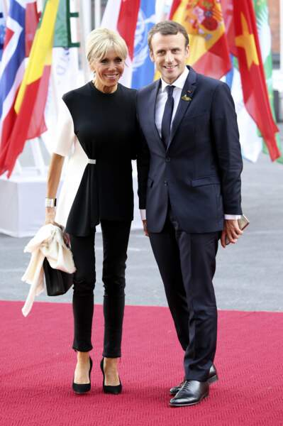 Emmanuel et Brigitte Macron - Juillet 2017