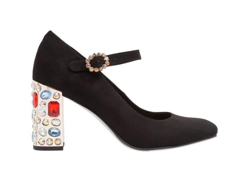 Chaussures de soirée : les escarpins bijoux