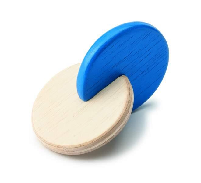 Montessori : le hochet à disques liés - Oxybul