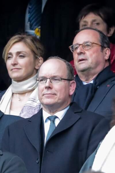 Le prince Albert de Monaco était également présent dans les tribunes du Stade de France