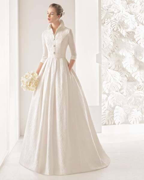 Mariage en hiver : Robe de mariée Nefer par Rosa Clara