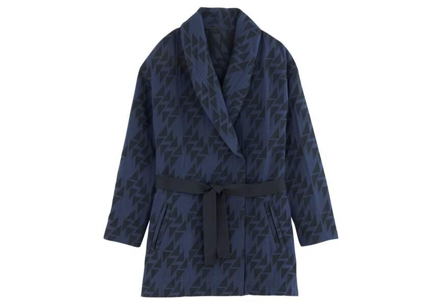 Tendance kimono: version manteau