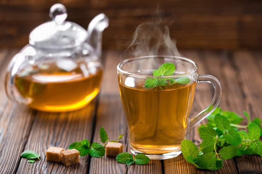 Troquer le café contre du thé et des infusions