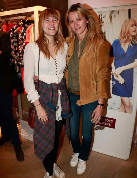 Sarah Lavoine et Yasmine : décontractées