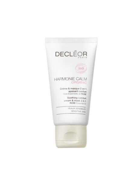 Crème & Masque 2 en 1 Harmonie Calm de Decléor