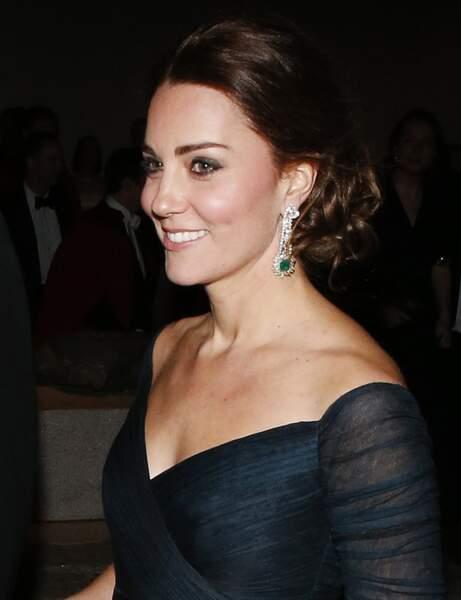 La coiffure sophistiquée de Kate Middleton