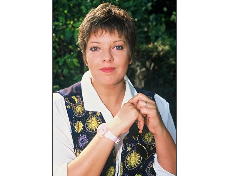 Laurence Boccolini : en 1995, elle a 32 ans