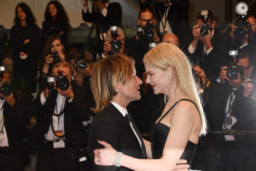 Nicole Kidman et Keith Urban au festival de Cannes en mai 2017.