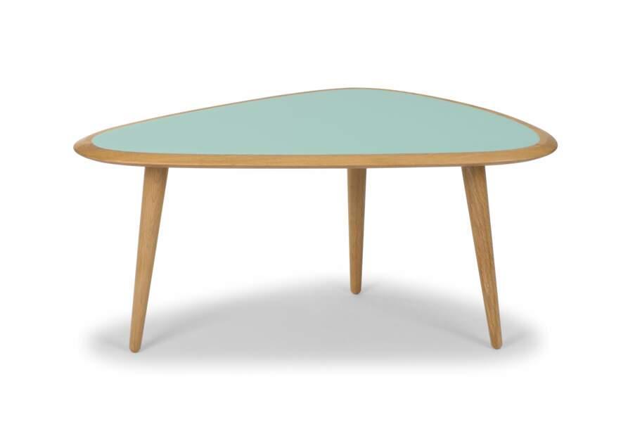Table basse pastel