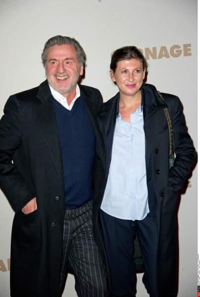 Daniel Auteuil et sa femme Aude Ambroggi : 2011