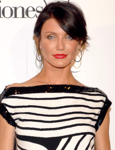 Cameron Diaz et sa coloration brune