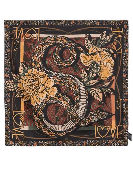 Tendance python : foulard