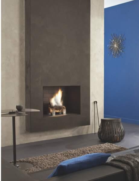 Gris et bleu acier en mode design