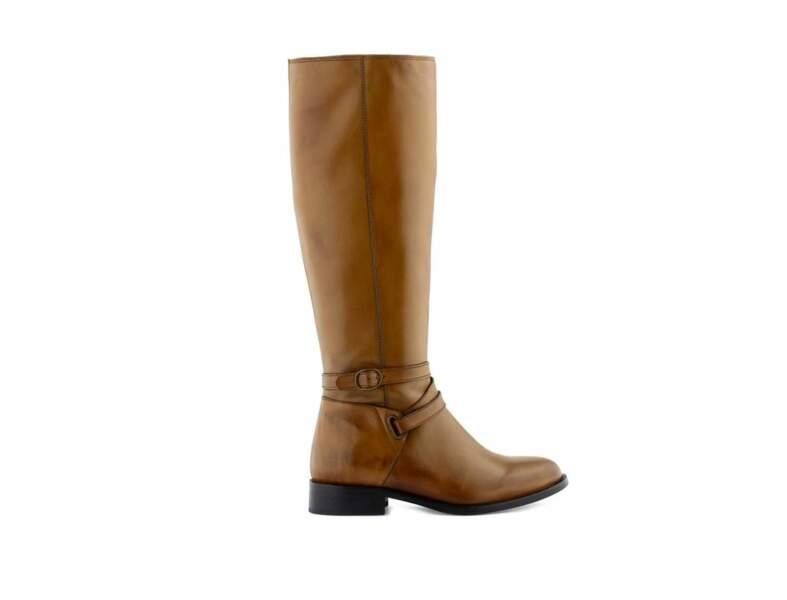 Pour un look classique : bottes cavalières Minelli