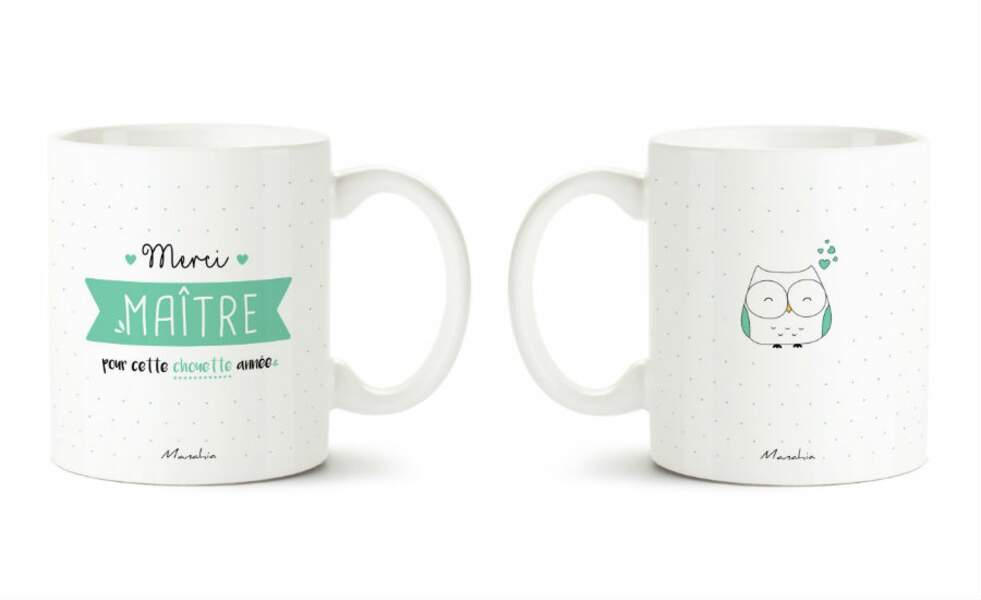 Un mug à message