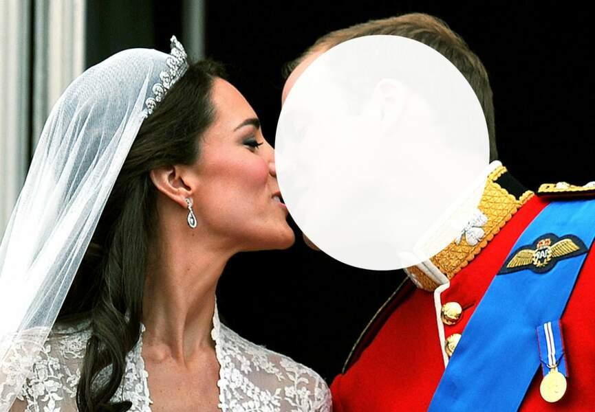 Le baiser de conte de fée… Kate Middleton