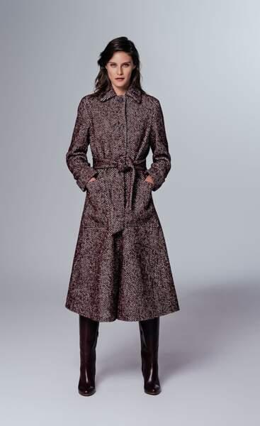 Le manteau peignoir