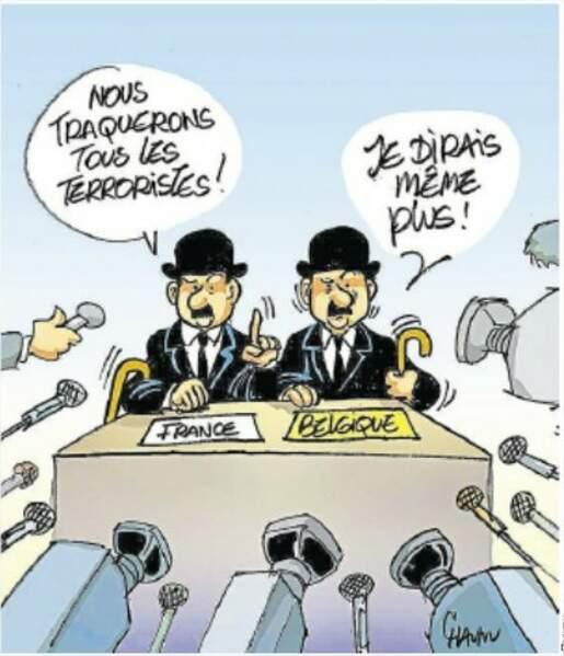 Le regard de Chaunu, dessinateur de Ouest-France