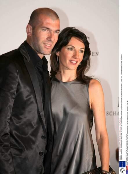 Zinédine Zidane et sa femme Véronique : 2007