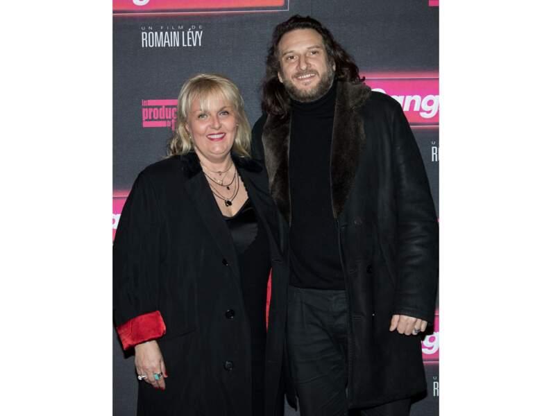"""En 2017, elle apparait au bras de son compagnon Régis Viogeat à l'avant-première du film """"Gangsterdam"""""""