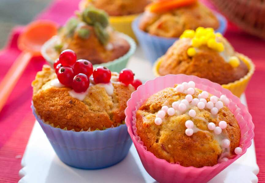 Muffin aux abricots