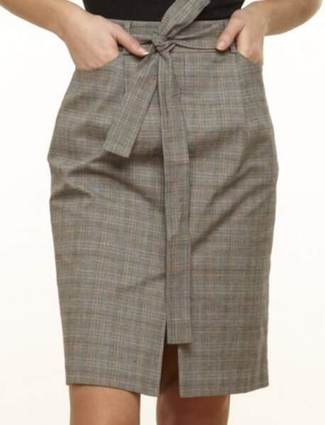 Tendance motif Prince de Galles : la jupe