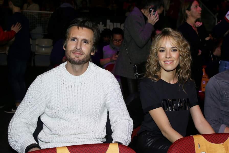 """Elodie Fontan et Philippe Lacheau à la projection du film """"Nicky Larson et le parfum de Cupidon""""le 18 janvier 2019."""