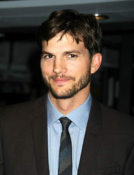 La barbe d'Ashton Kutcher